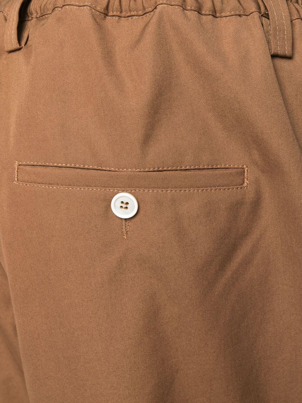 Marni straight leg trousers man brown MARNI | Trousers | PUMU0017A0 S5385200M28