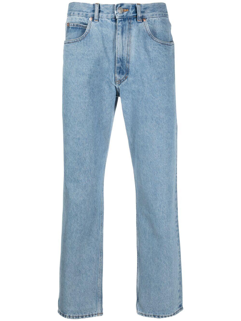 Martine Rose jeans con stampa logo uomo denim MARTINE ROSE   Jeans   MR223DMR063