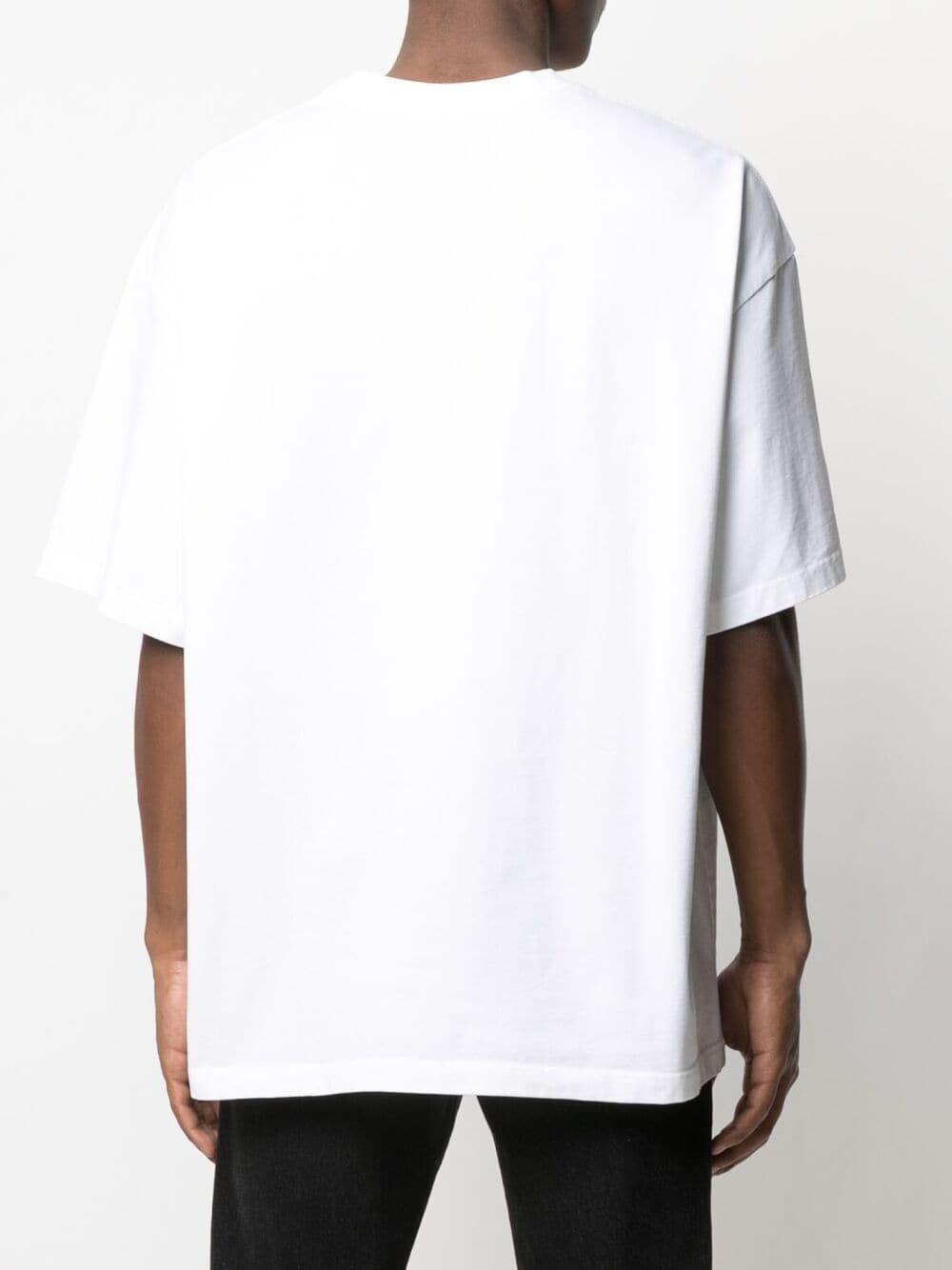 Martine Rose print t-shirt man white MARTINE ROSE | T-shirts | MR621SMR1SA
