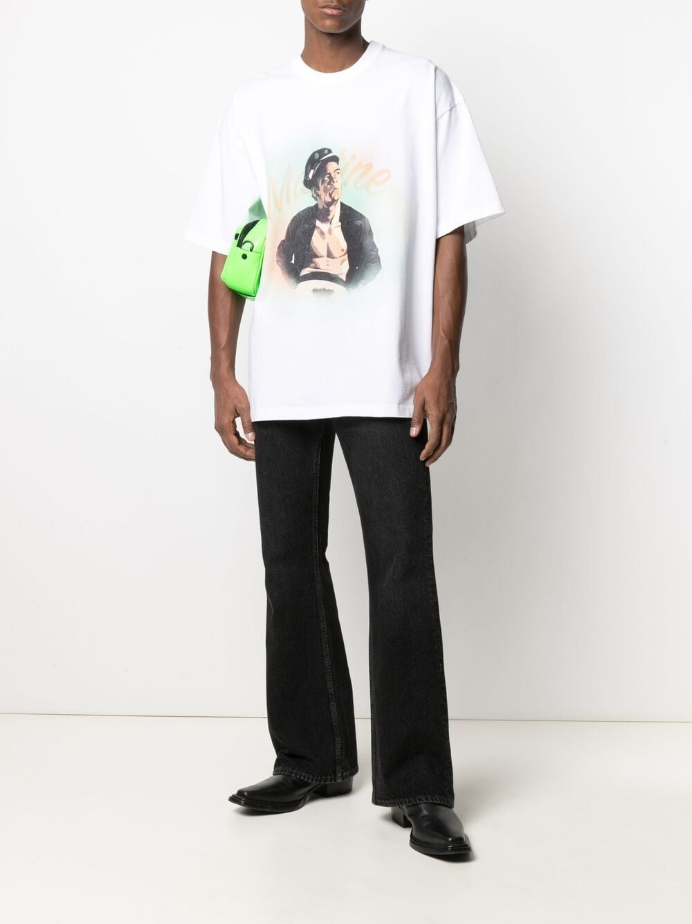 Martine Rose print t-shirt man white MARTINE ROSE   T-shirts   MR621SMR1SA