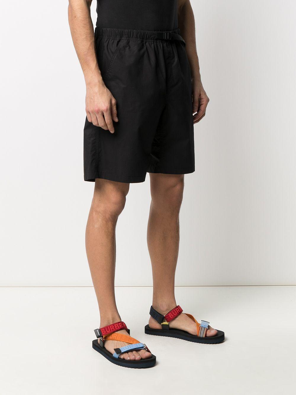 bermuda con logo uomo neri MSGM | Bermuda | 3040MB05X 21710499