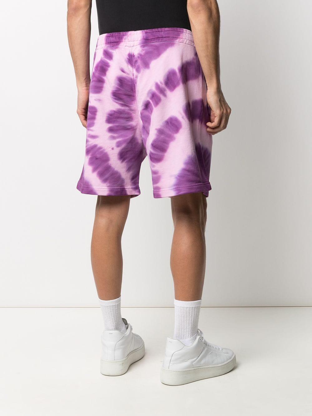 Bermuda In Cotone Tie Dye Uomo MSGM | Bermuda | 3040MB63 21709572