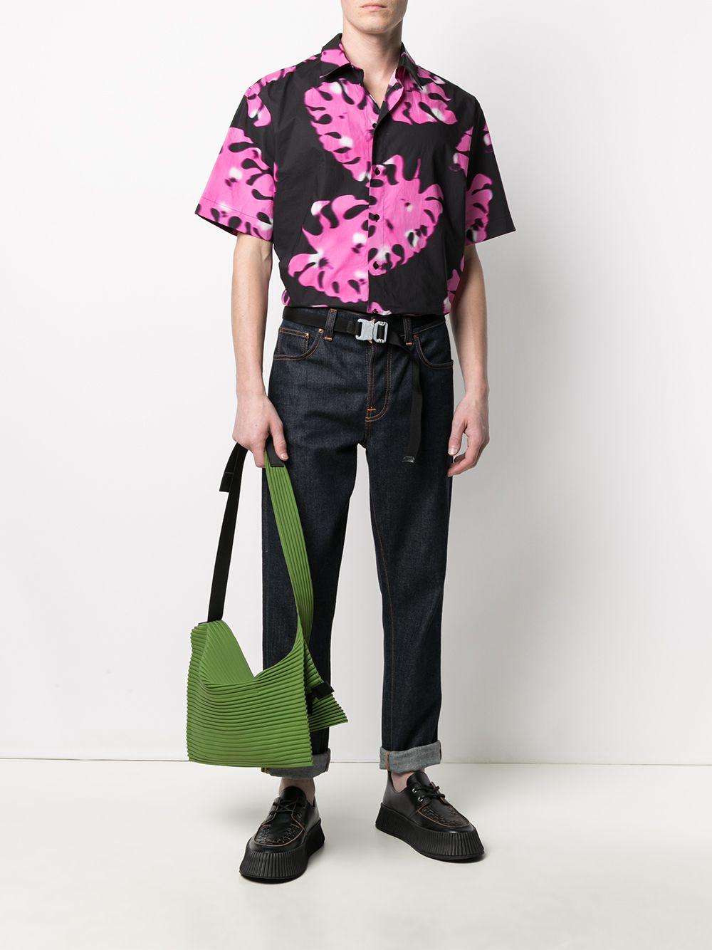 Camicia Con Stampa Uomo MSGM | Camicie | 3040ME20 21701112