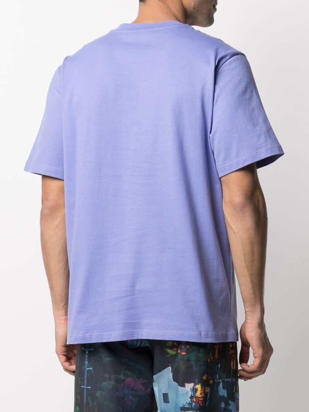 Msgm t-shirt in cotone con logo uomo MSGM | T-shirt | 3040MM169 21709872