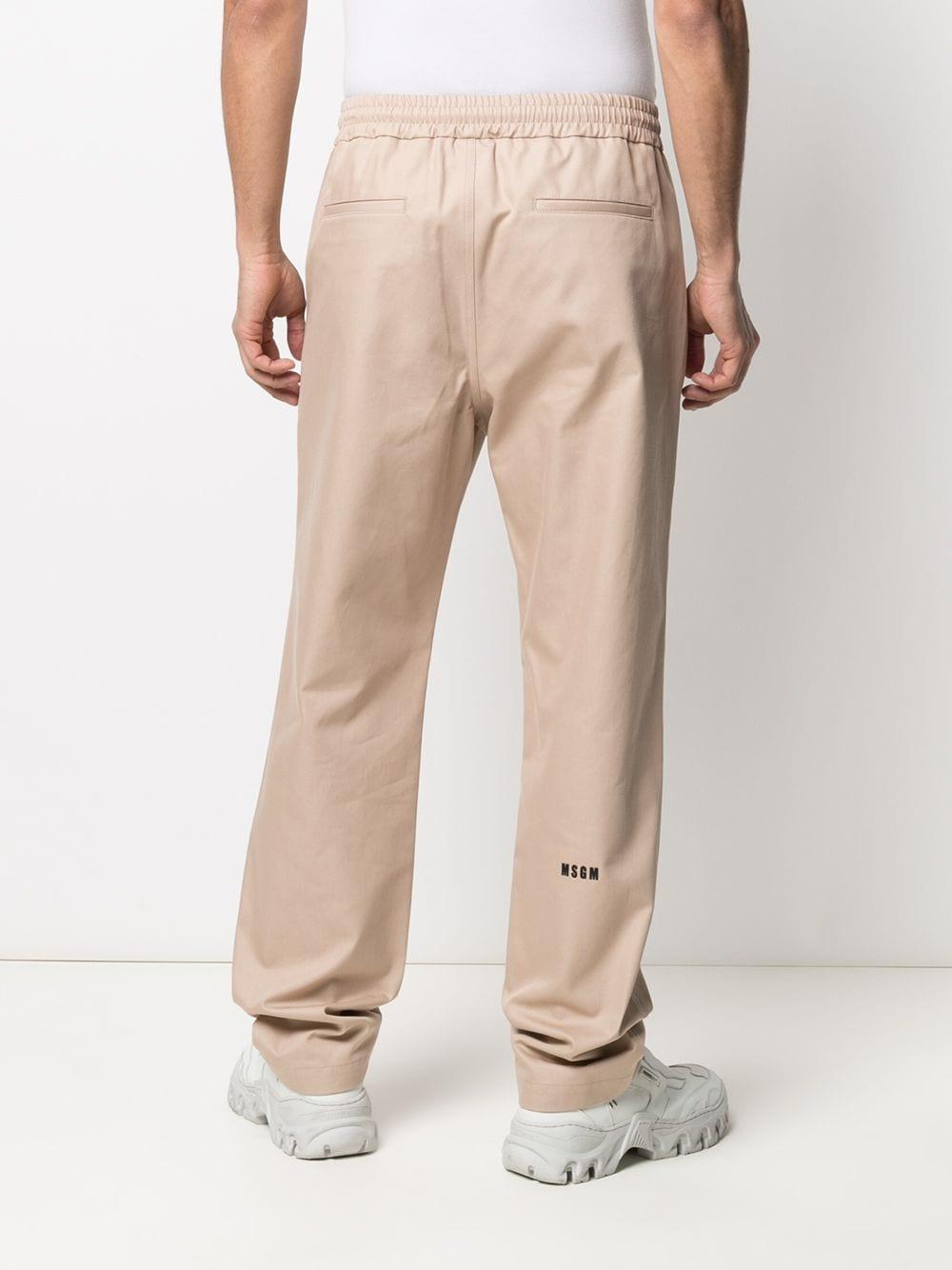 COTTON TRACK PANTS MSGM | Trousers | 3040MP01X 21710523