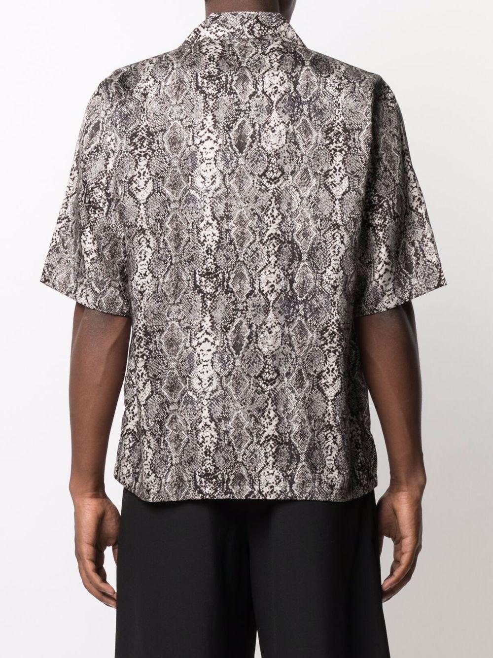 Needles short-sleeves shirt man NEEDLES   Shirts   IN169WHITE