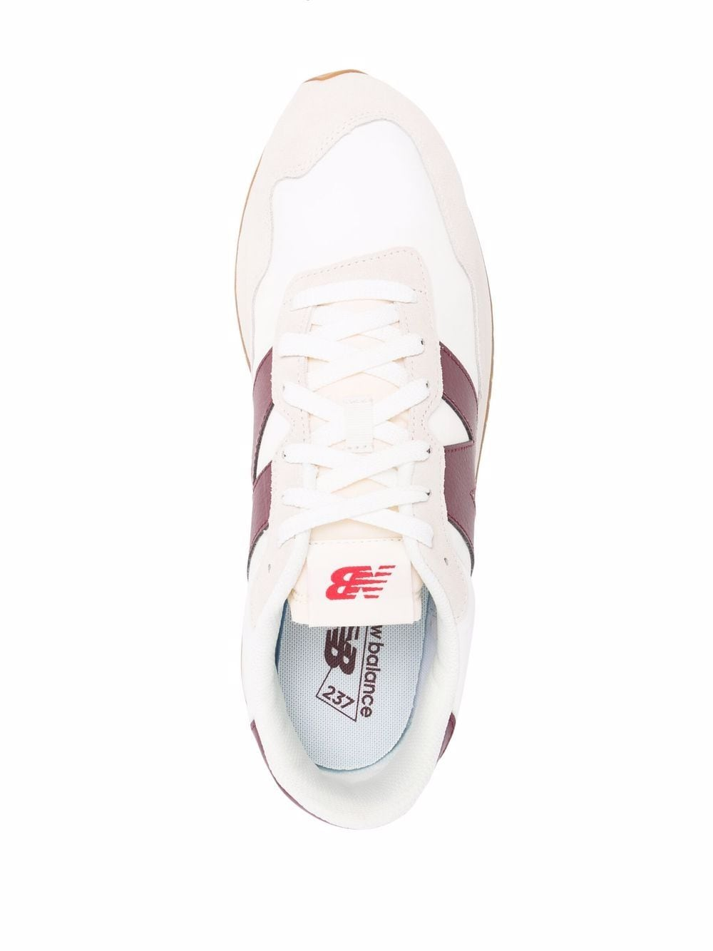 Sneakers ms237 Bordeaux Uomo Pelle NEW BALANCE   Sneakers   MS237SB