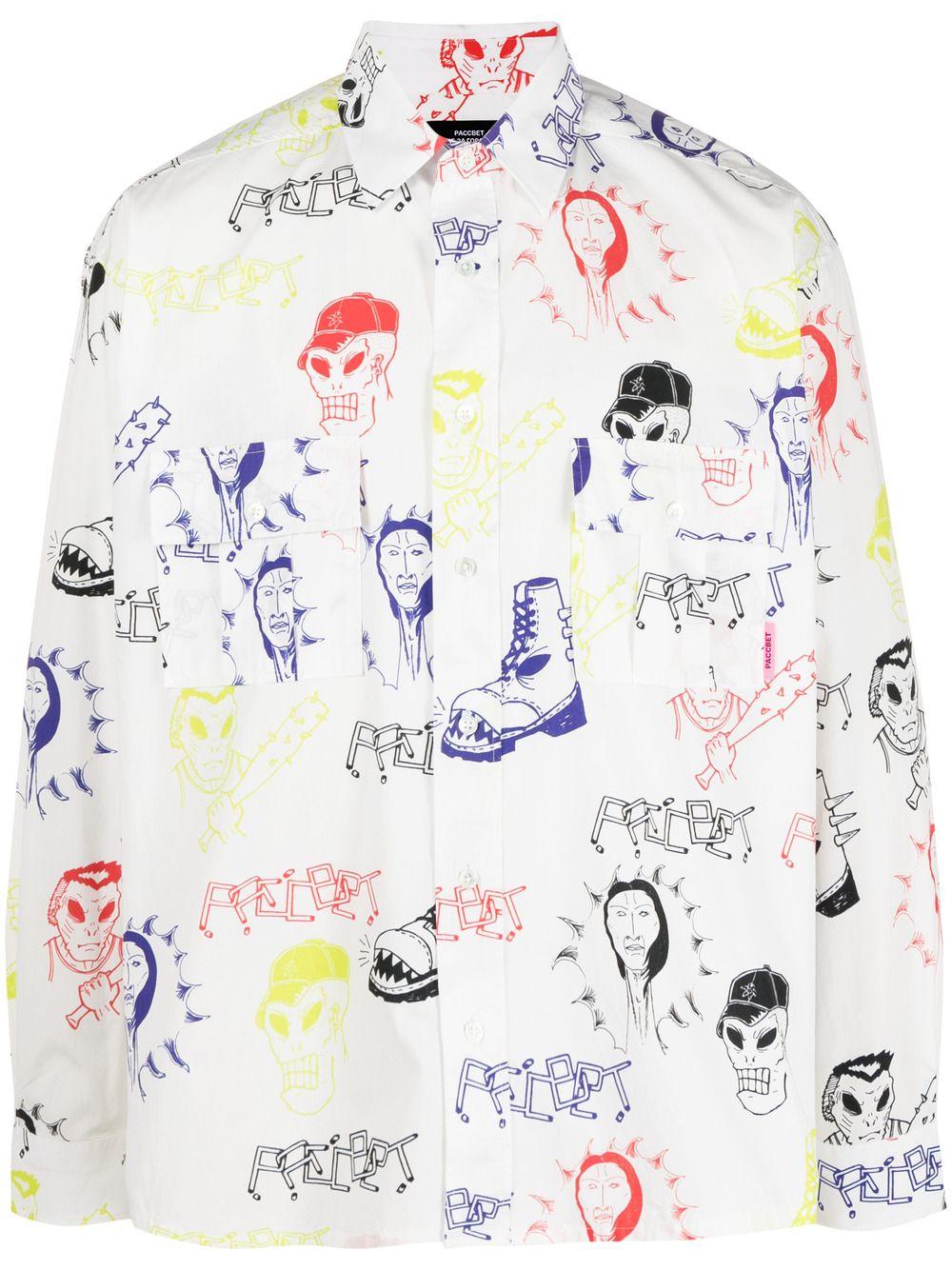 RASSVET | Shirts | PACC8B002HARDCORE PRINT