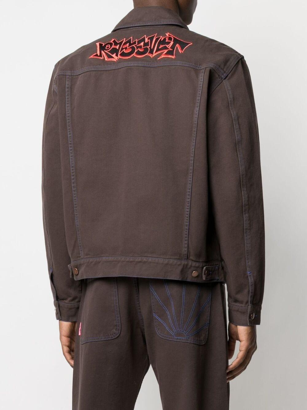 Rassvet denim jacket man RASSVET | Jackets | PACC8J005BROWN