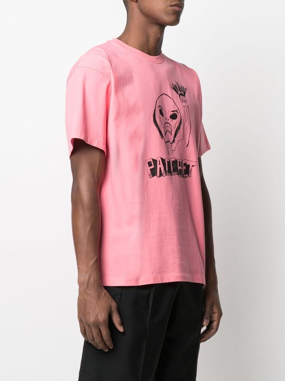 T-Shirt Con Stampa Uomo RASSVET | T-shirt | PACC8T003PINK