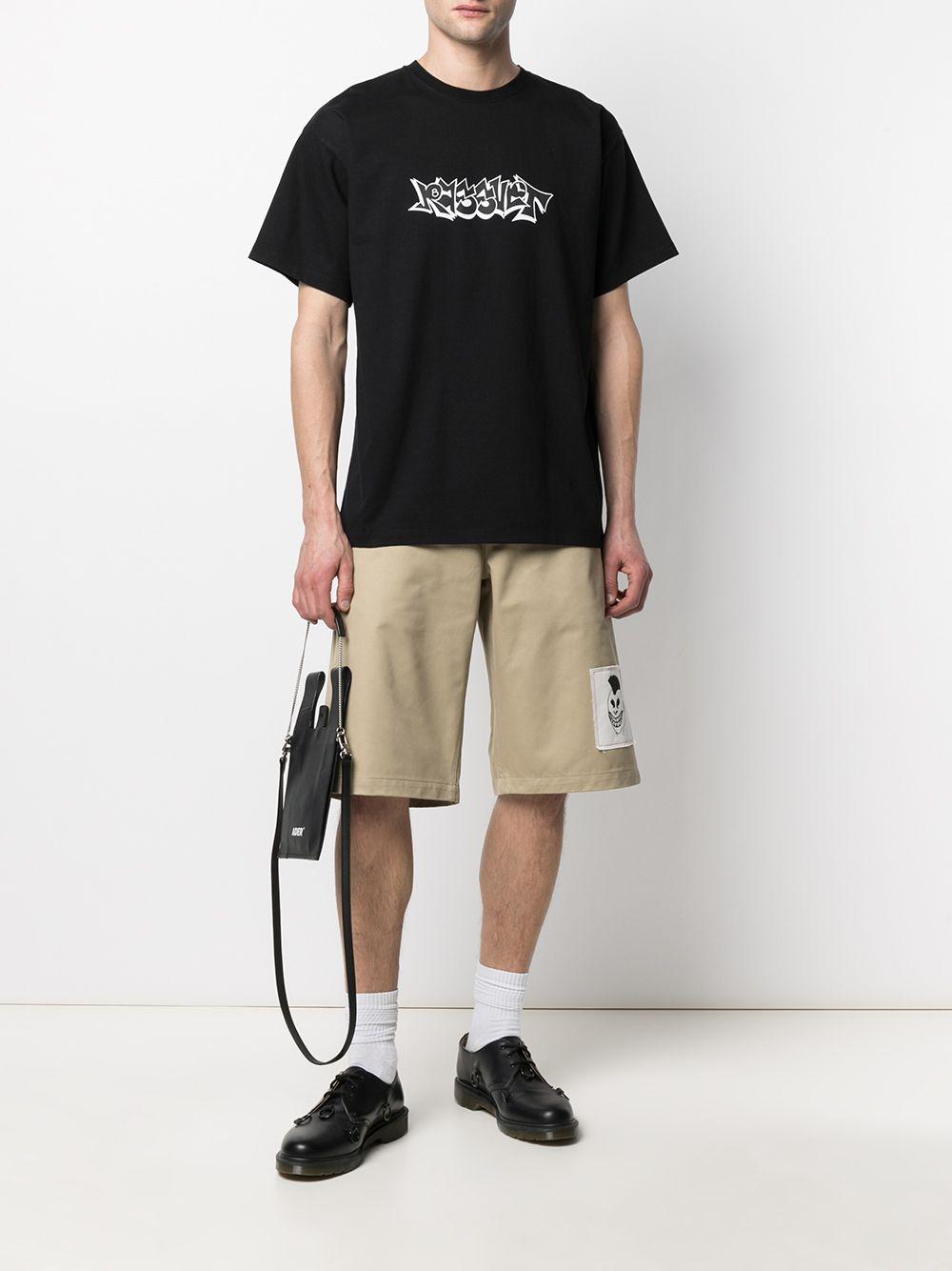 Rassvet t-shirt con stampa uomo RASSVET | T-shirt | PACC8T005BLACK