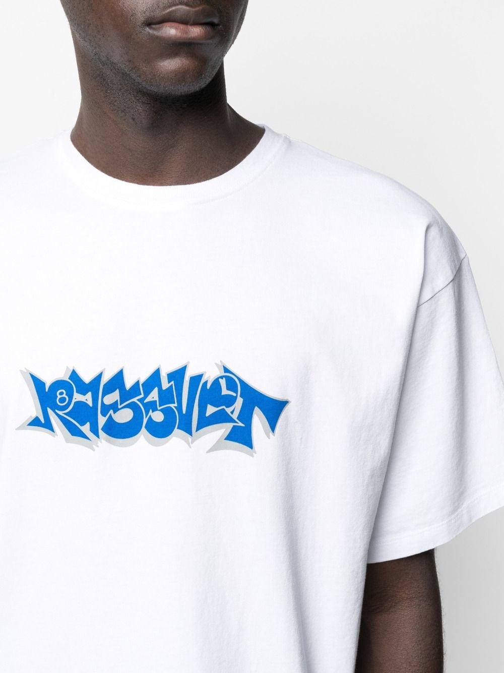 Rassvet t-shirt con stampa uomo RASSVET | T-shirt | PACC8T005WHITE