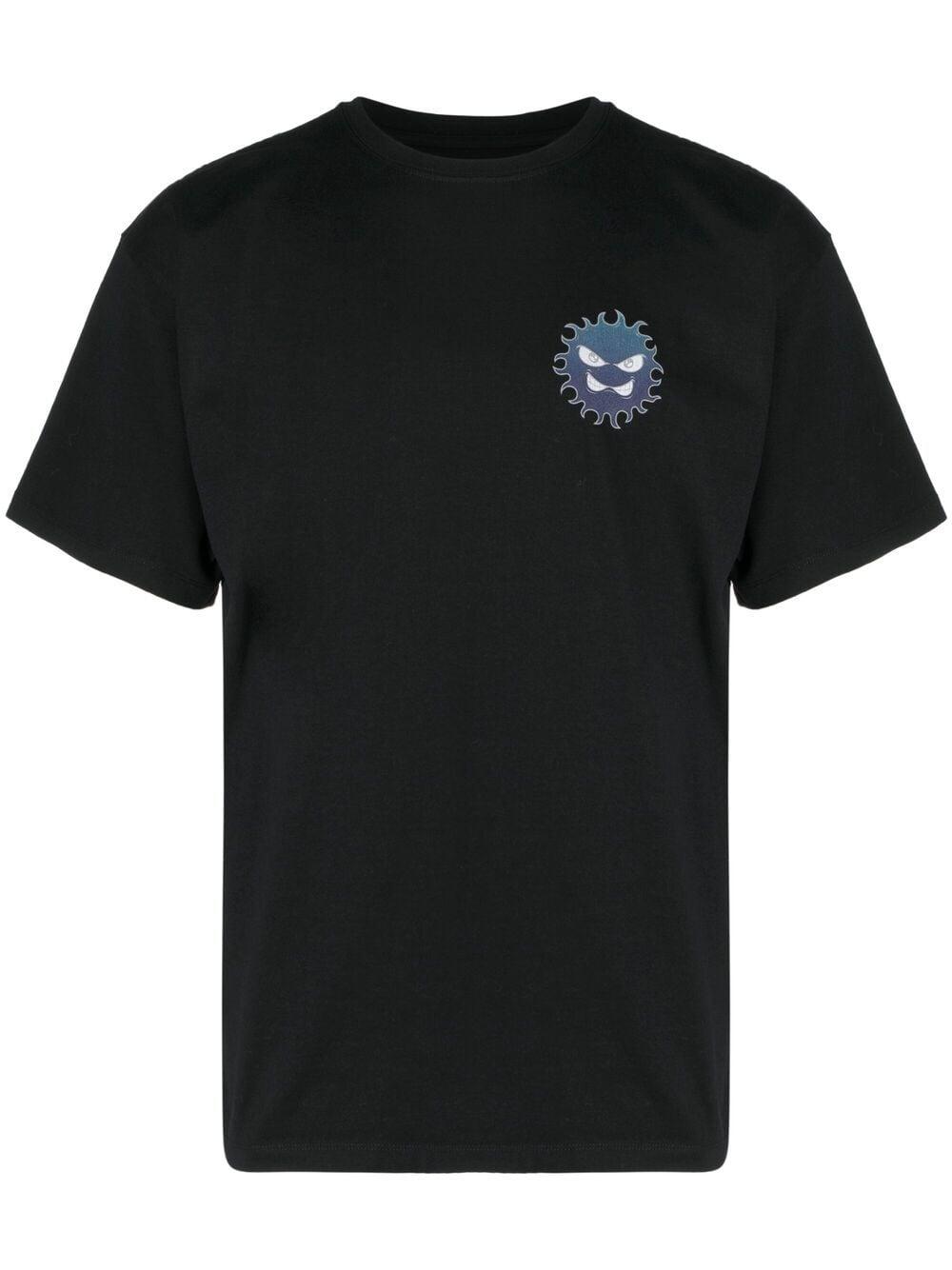 Rassvet t-shirt con stampa uomo RASSVET | T-shirt | PACC8T006BLACK