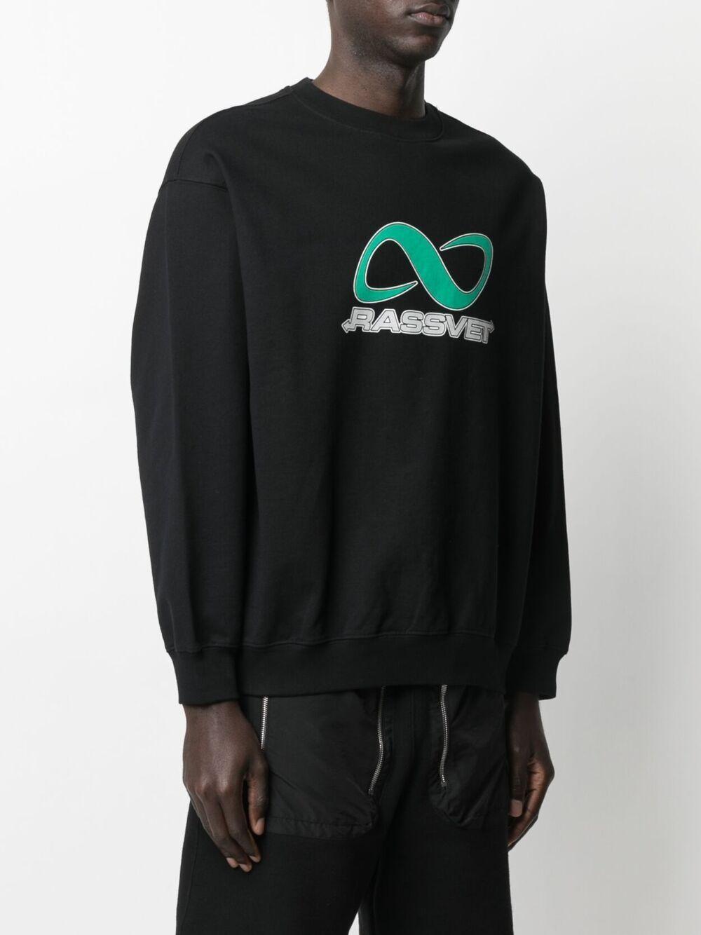 RASSVET   Sweatshirts   PACC8T027BLACK