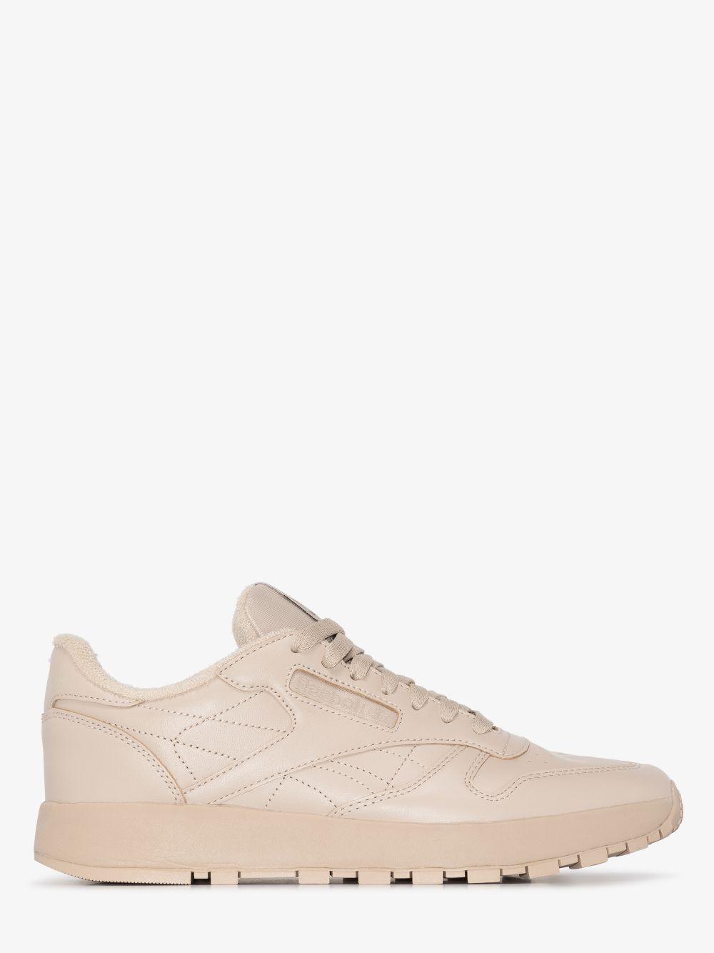 project 0 cl tabi uomo beige in pelle REEBOK X MAISON MARGIELA   Sneakers   GX5141MODBEI