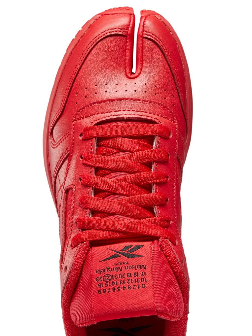Reebok X Maison Margiela project 0 cl uomo REEBOK X MAISON MARGIELA | Sneakers | H04866RED