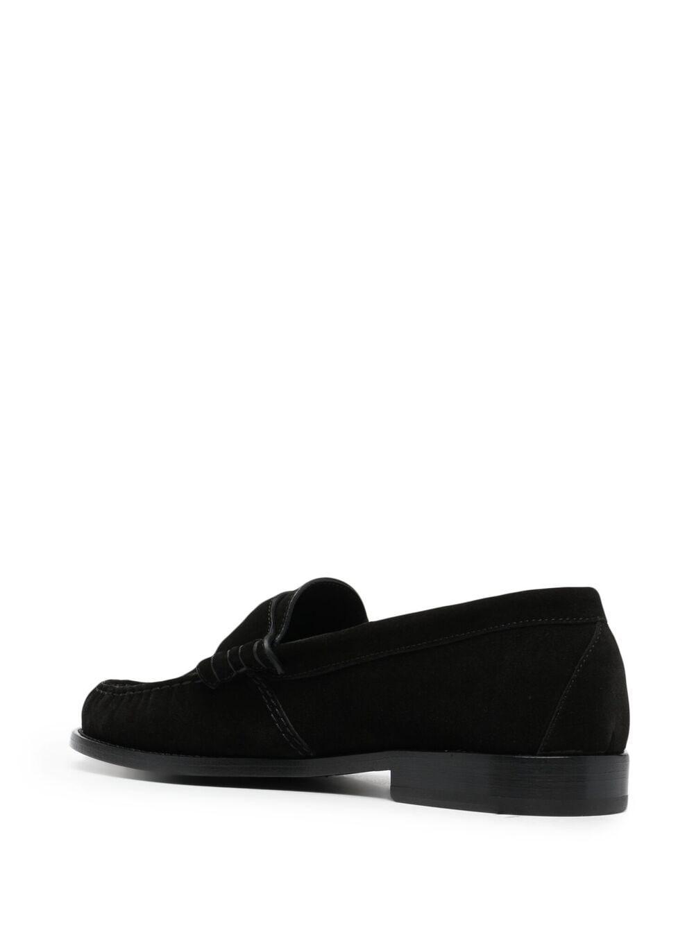 Rhude hard sole loafers man black RHUDE   Loafers   RHPS21FO0015