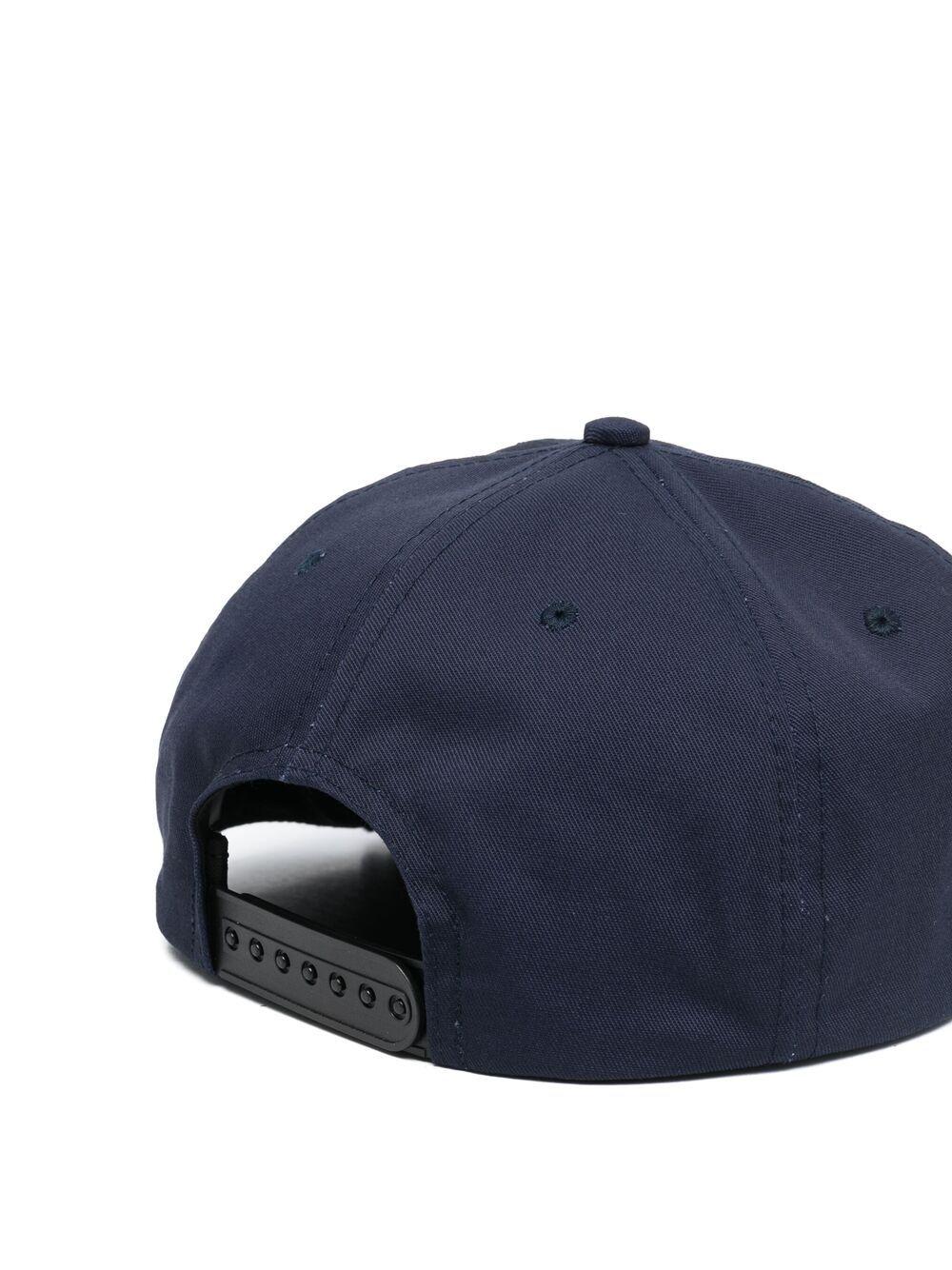 Rhude logo cap man black RHUDE | Hats | RHPS21HA0043