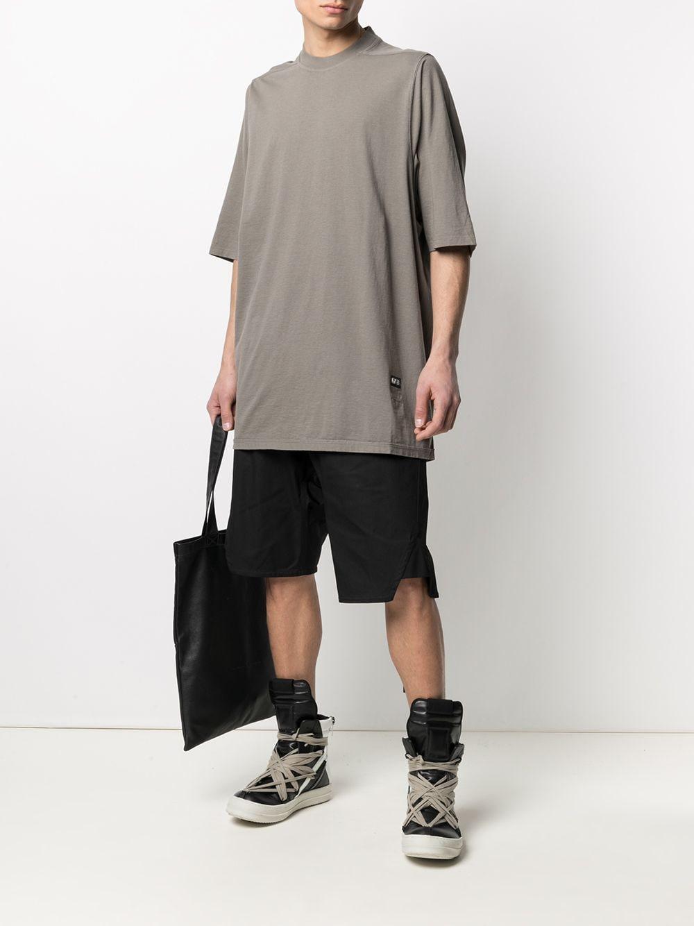 Rick Owens Drkshdw t-shirt oversize uomo RICK OWENS DRKSHDW | T-shirt | DU21S2274 RN34