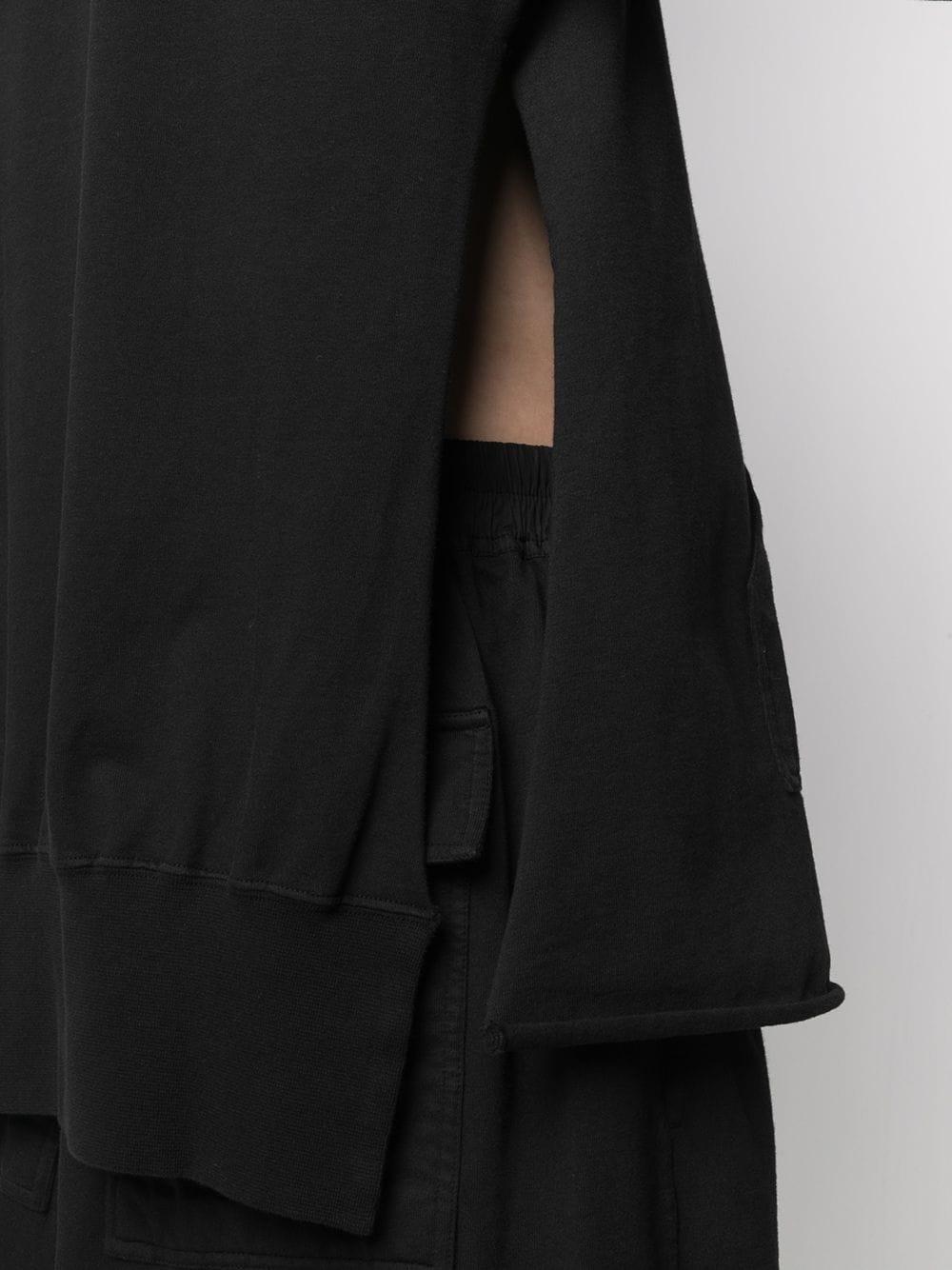 PONCHO HOODIE RICK OWENS DRKSHDW | Sweatshirts | DU21S2282 RIG09