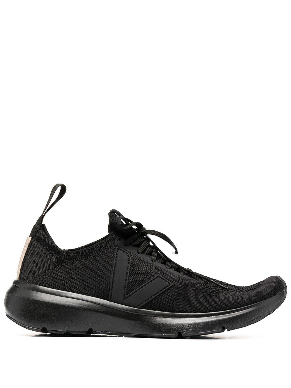 Rick Owens X Veja sock low top sneakers man black RICK OWENS X VEJA   Sneakers   VM21S6800 KVE99