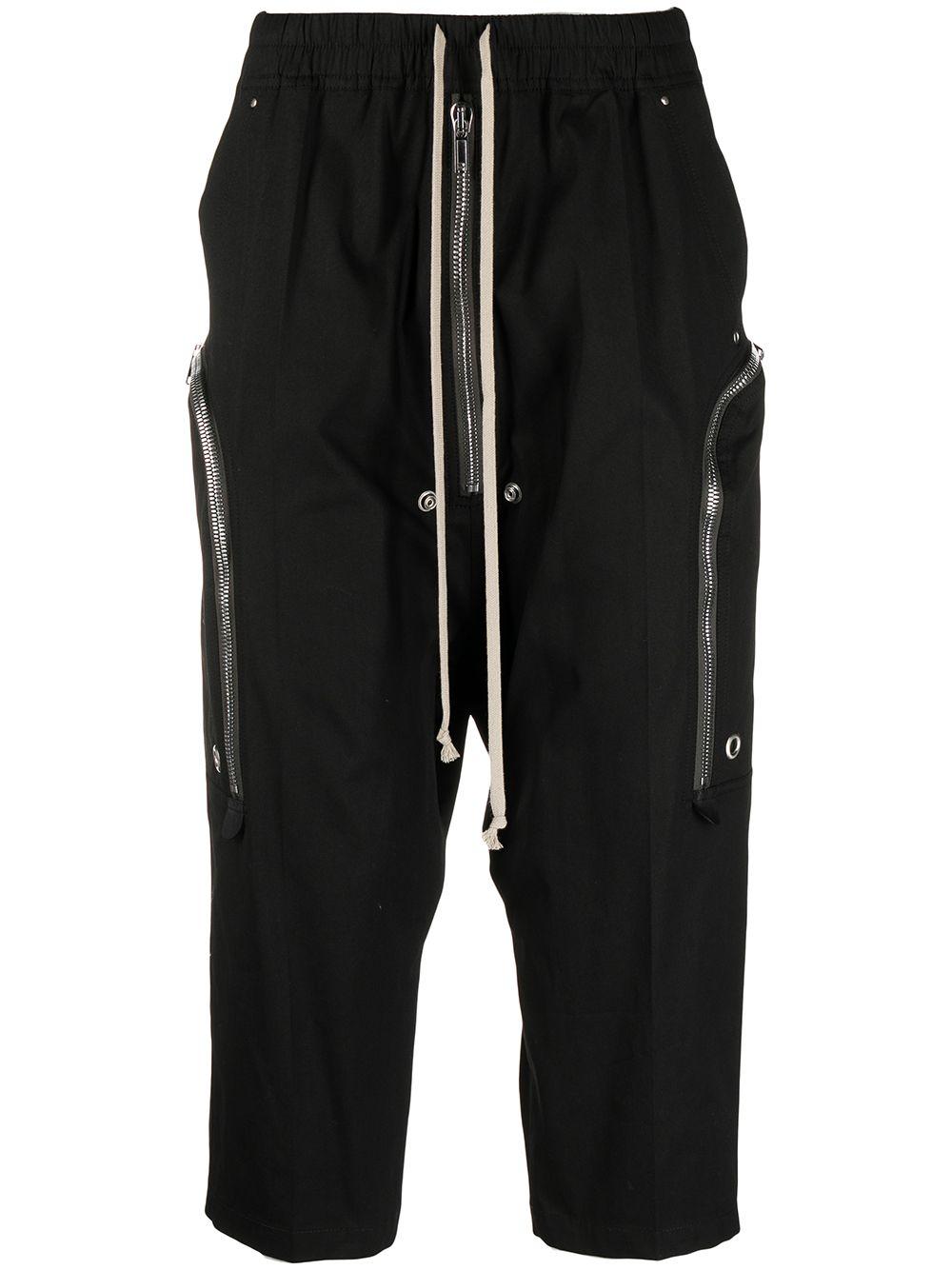 Pantaloni Bauhaus Bela Nero Uomo RICK OWENS   Pantaloni   RU21S6348 TE09