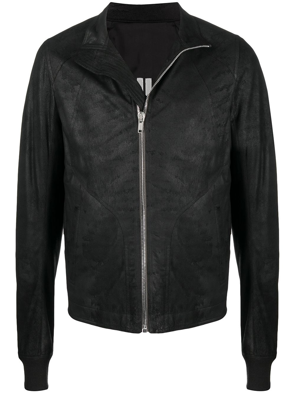 Rick Owens giacca in pelle uomo RICK OWENS | Giacche | RU21S6761 LBA09