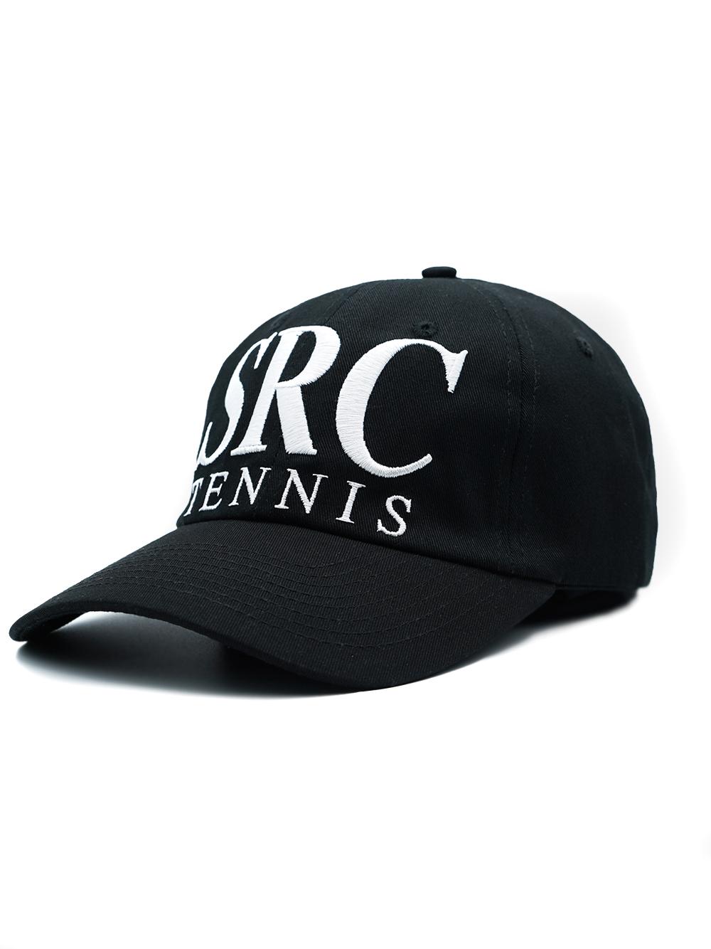 Cappellino src tennis Nero Uomo in Cotone SPORTY & RICH | Cappelli | AC152BK