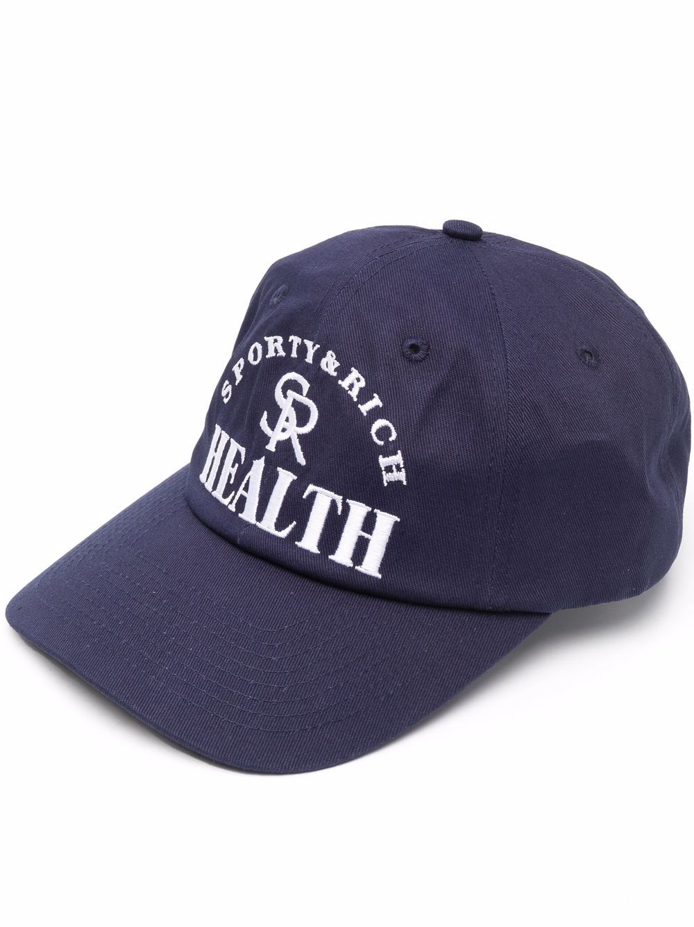 Ball Game Hat Blue Unisex Cotton SPORTY & RICH | Hats | AC156NA