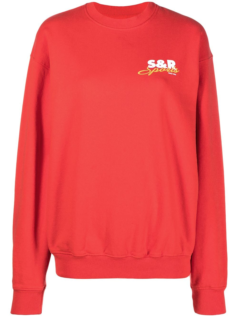 CREW NECK SWEATER SPORTY & RICH | Sweatshirts | CR081CY