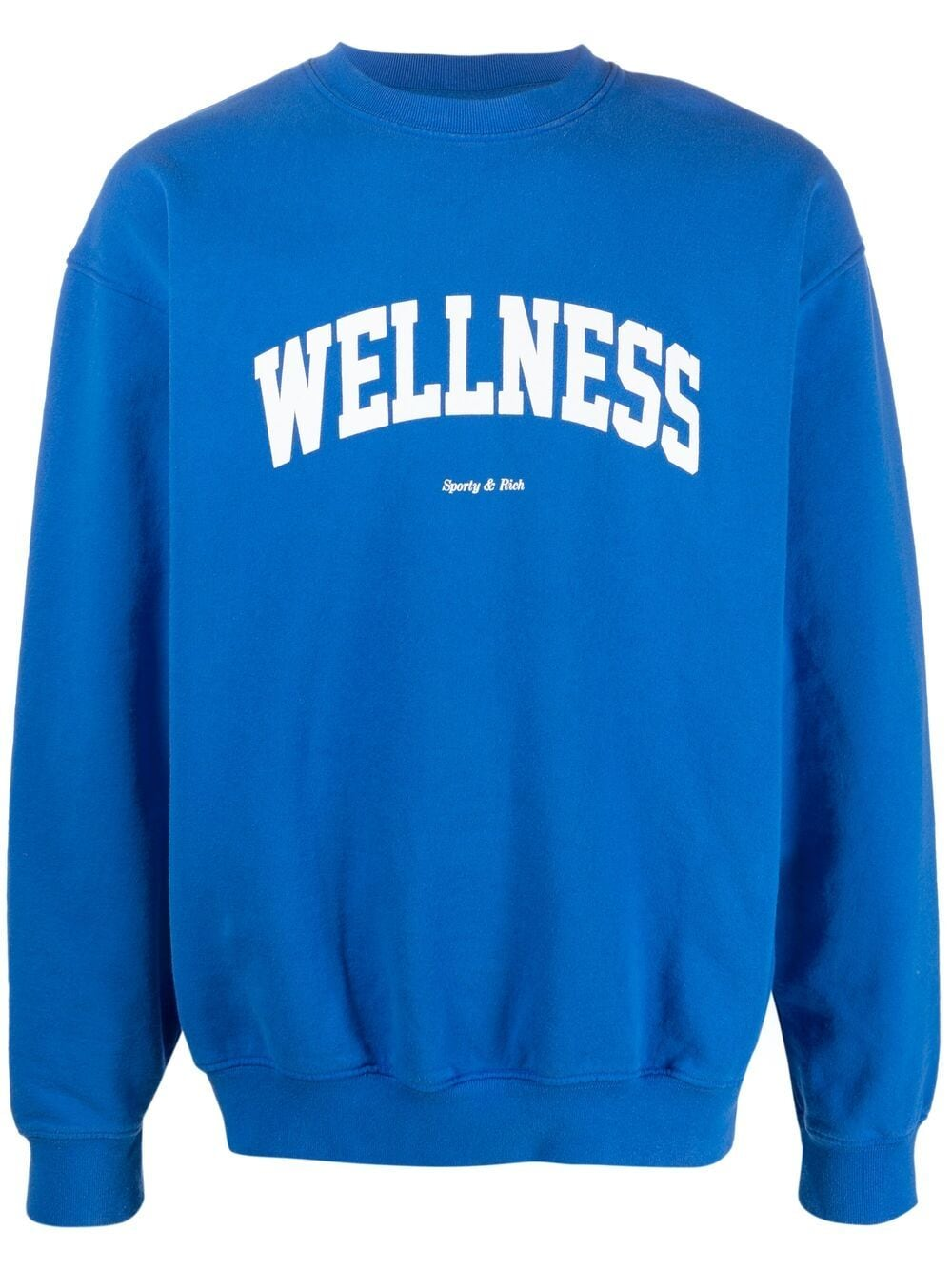 Sporty & Rich felpa a girocollo wellness unisex blu SPORTY & RICH | Felpe | CR091PR