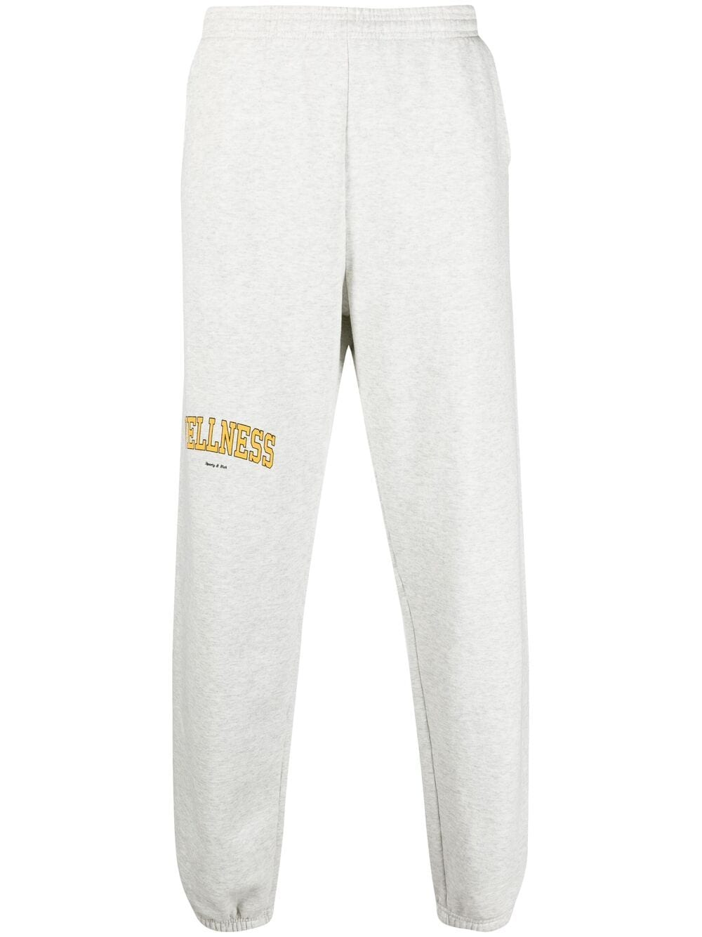 Sporty & Rich wellness trousers unisex grey SPORTY & RICH | Trousers | SW141HG