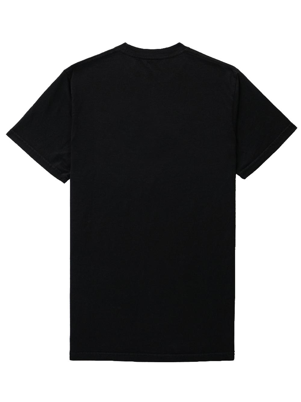 Src tennis T-shirt Black Man Cotton SPORTY & RICH | T-shirts | TS155BK
