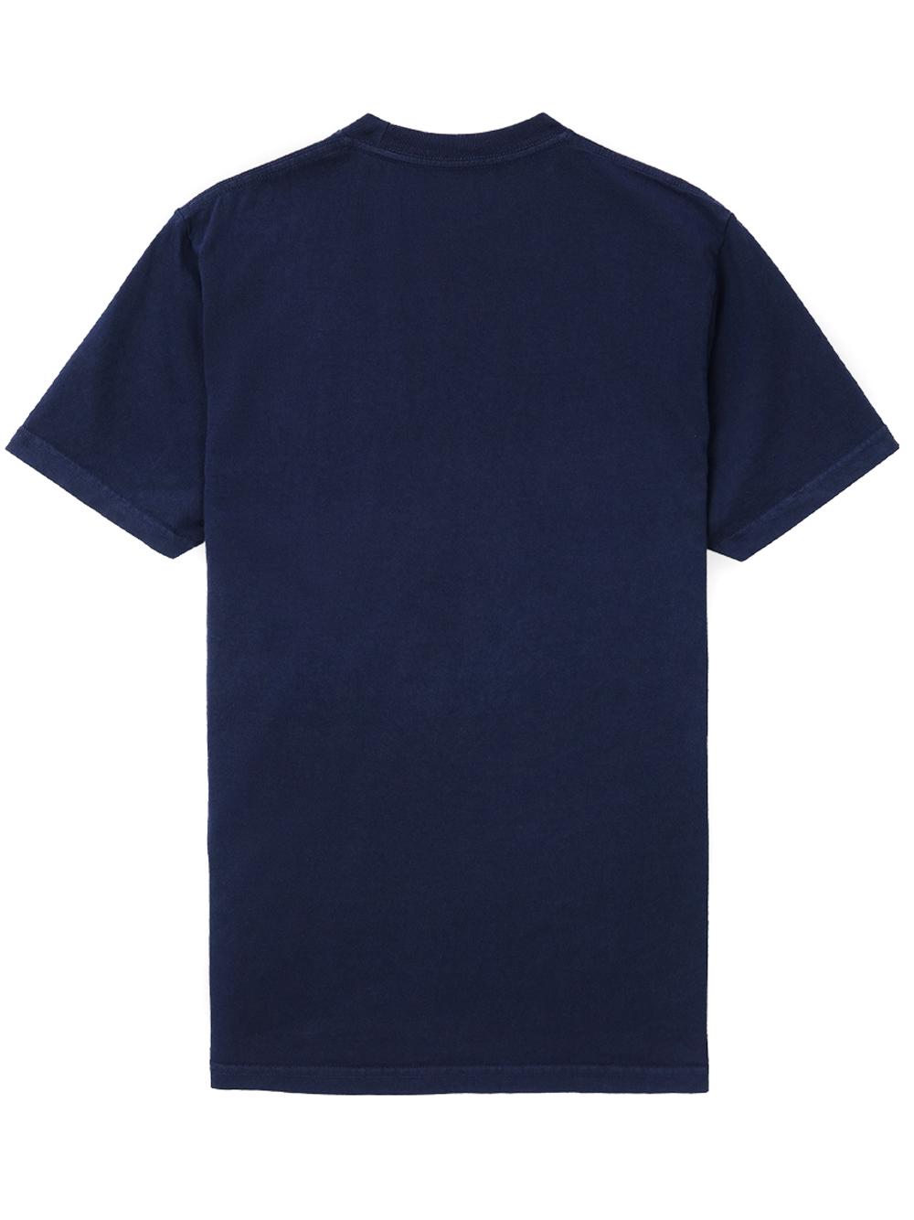 Ball game t-shirt Blue Man Cotton SPORTY & RICH | T-shirts | TS158NA
