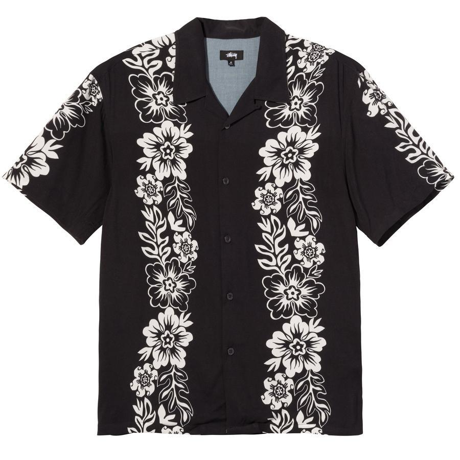 Stussy camicia a fiori uomo STUSSY   Camicie   1110157BLACK