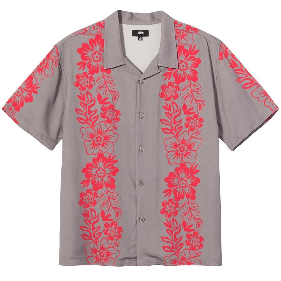 HAWAIIAN PATTERN SHIRT STUSSY | Shirts | 1110157GREY