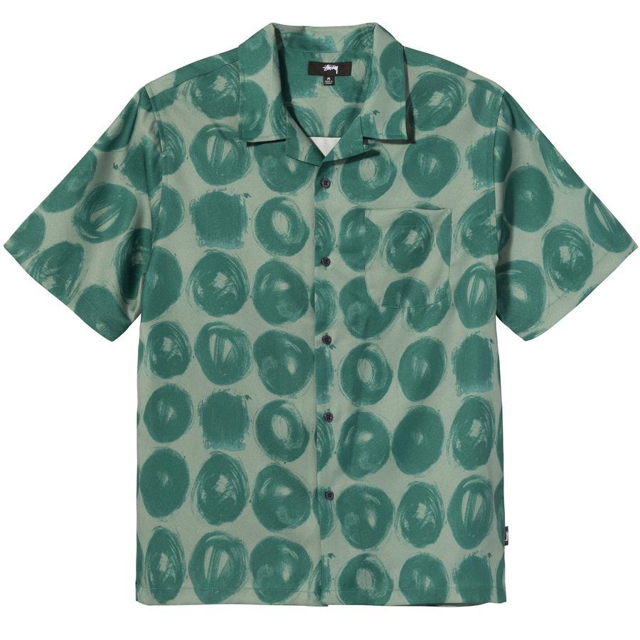 HAND DRAWN DOT SHIRT STUSSY   Shirts   1110158GREEN