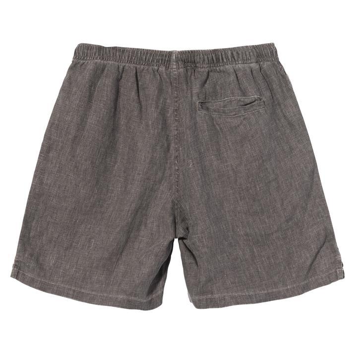 BOXY LINEN SHORT STUSSY | Shorts | 112262STCHARCOAL