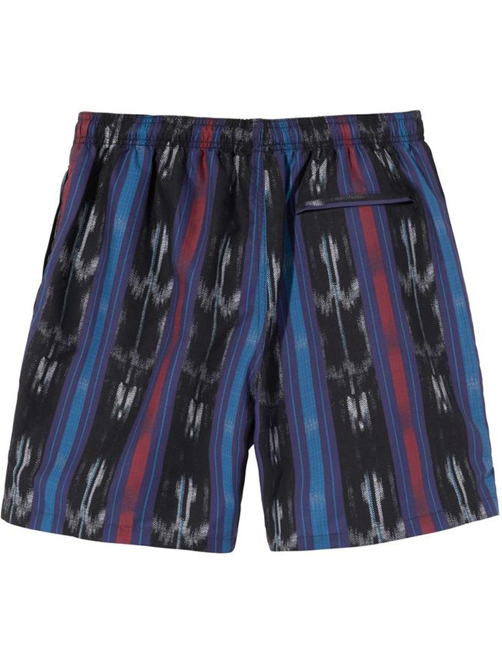 Costume da bagno Ikat Stripe nero Uomo STUSSY | Costumi da bagno | 113135BLACK