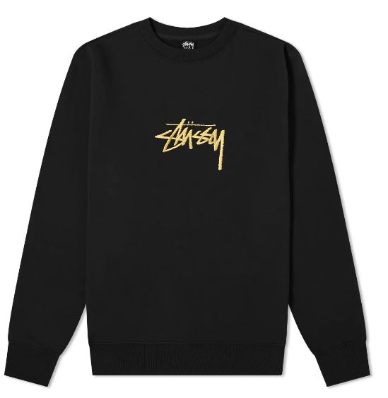 LOGO SWEATSHIRT STUSSY | Sweatshirts | 118419BLACK