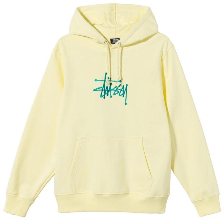 HOODIE SWEATSHIRT STUSSY | Sweatshirts | 118425PALE YELLOW