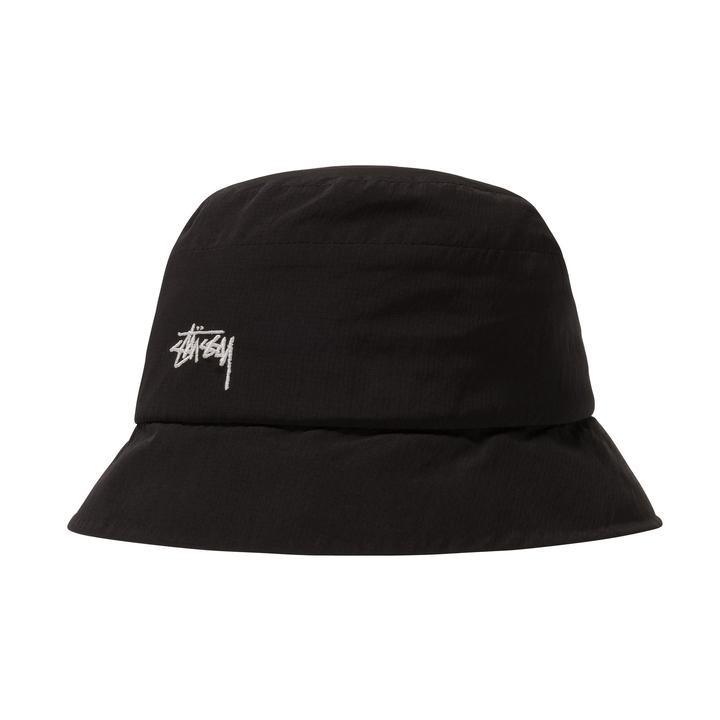 Stussy cappello da pescatore con logo uomo STUSSY | Cappelli | 1321030BLACK