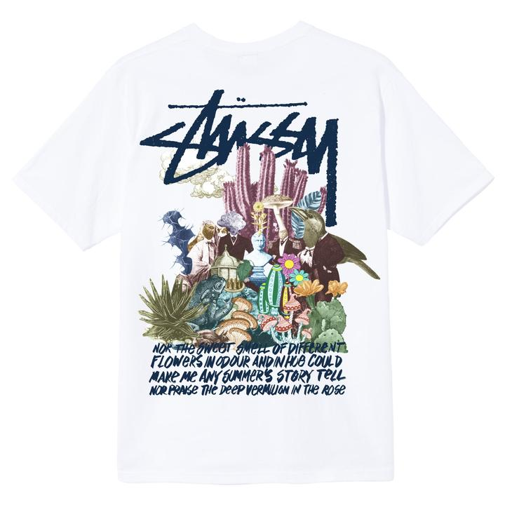 PSYCHEDELIC T-SHIRT STUSSY | T-shirts | 1904663WHITE