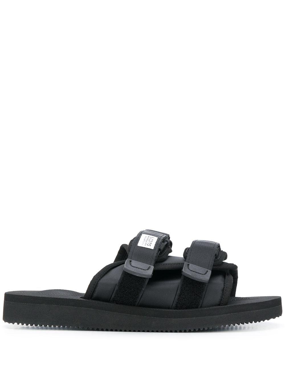 Suicoke moto-cab sandals man black SUICOKE | Sandals | OG-056CAB001
