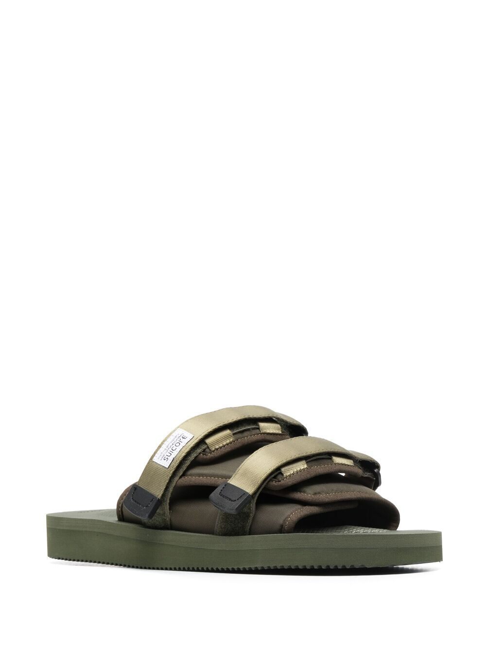 Suicoke double strap sandals man green SUICOKE | Sandals | OG-056CAB115