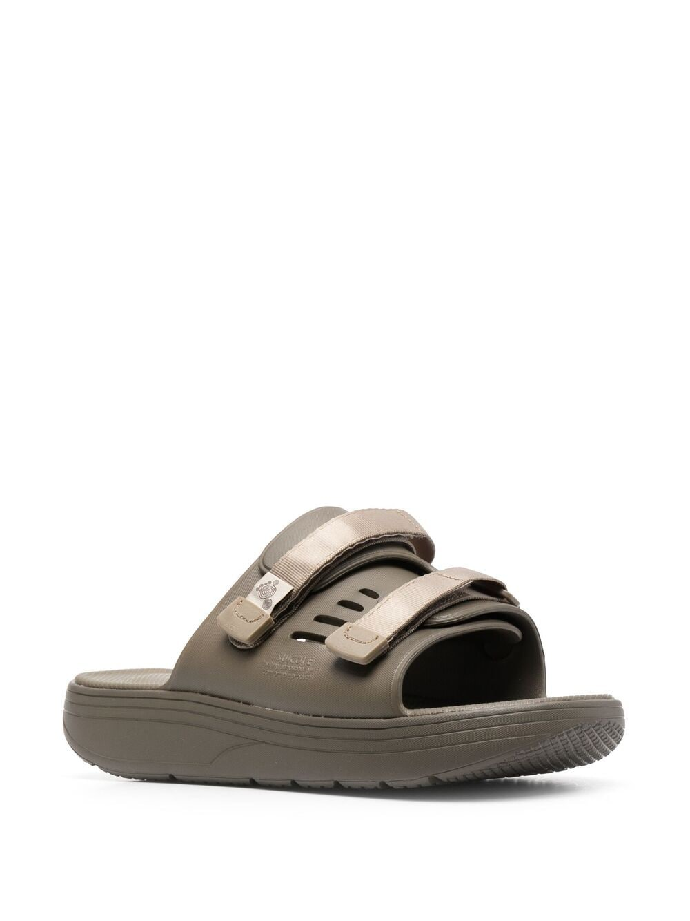 Suicoke touch strap flat sandals man green SUICOKE | Sandals | OG-INJ-01115