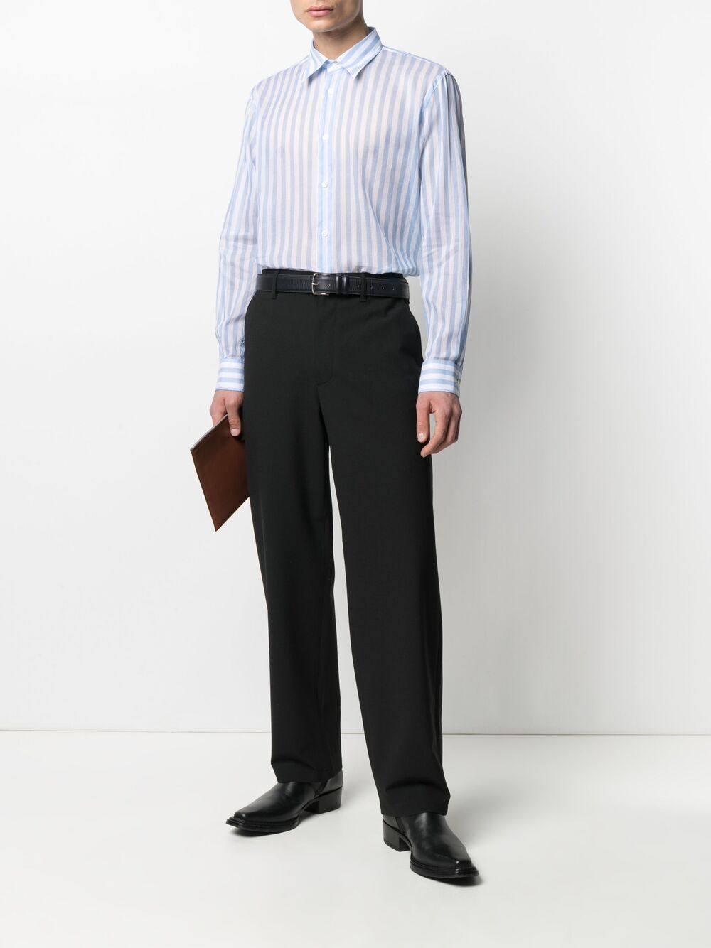 Sunflower camicia a righe uomo SUNFLOWER | Camicie | 1088205