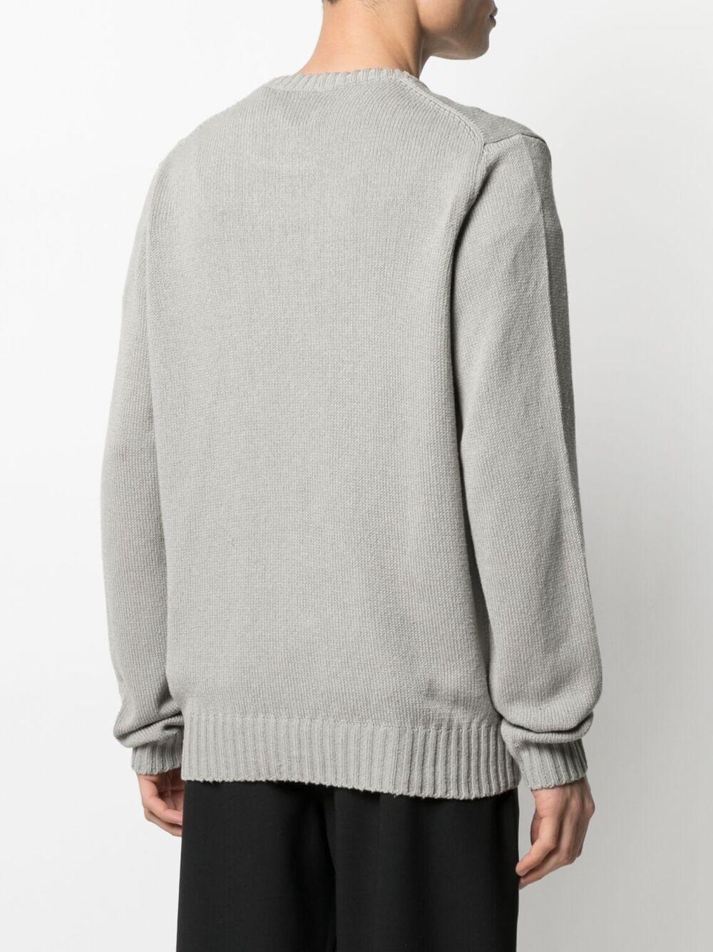 RIB TRIMMED SILK JUMPER SUNFLOWER | Sweaters | 3010810