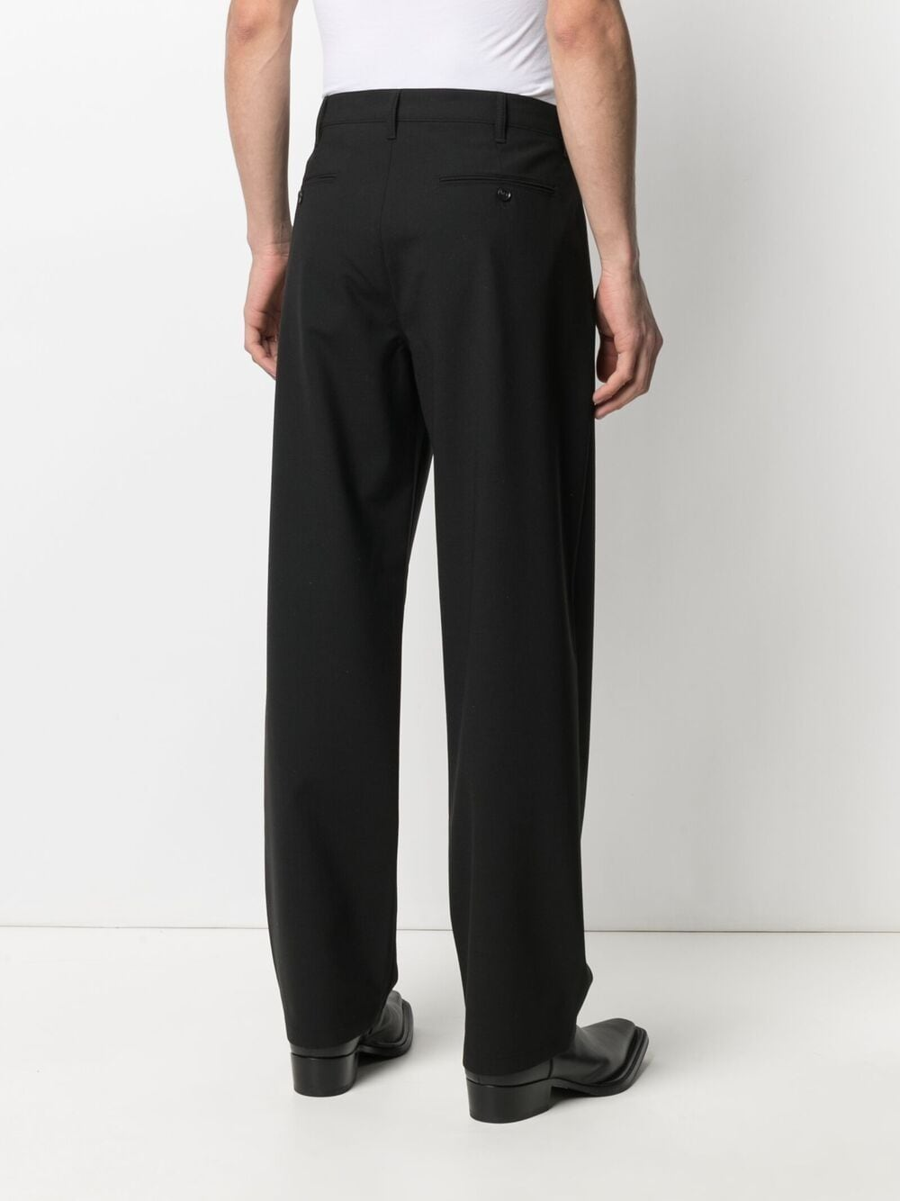 MID RISE STRAIGHT TROUSERS SUNFLOWER | Trousers | 4065200