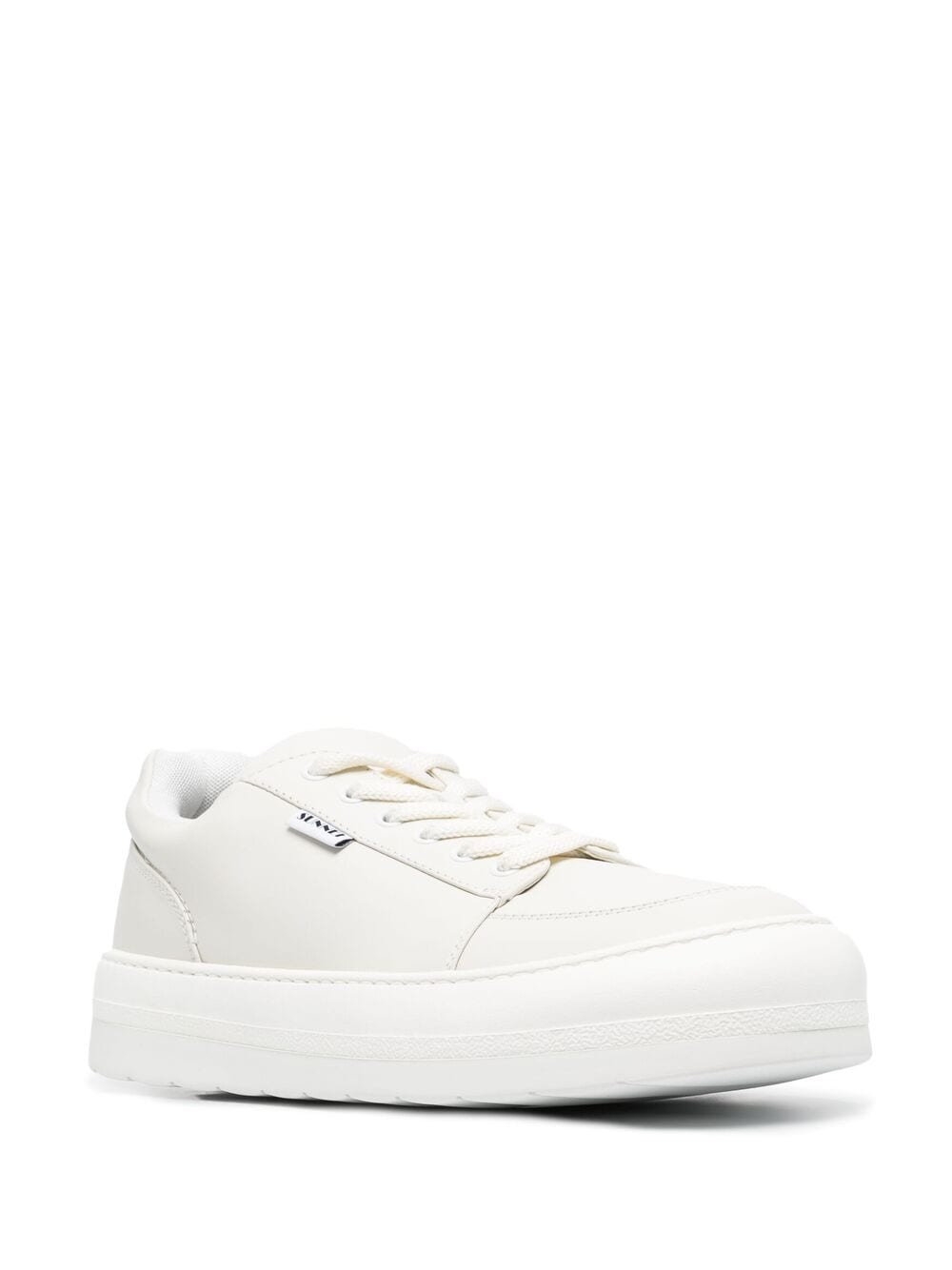 Sunnei logo patch detail sneakers man white SUNNEI | Sneakers | D04OFFWHITE